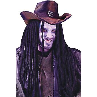 30 Inch Dreadlock Black Wig