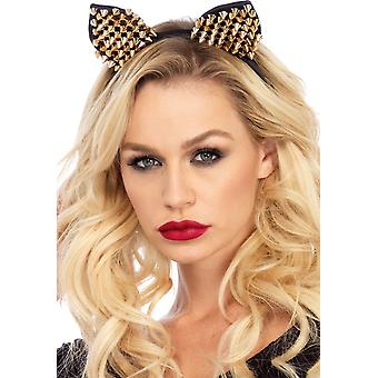 Cat Ears Gold Adult