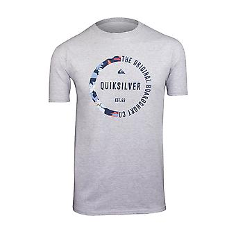 Quiksilver Herren Rache T-Shirt-Athletic Heather Gray