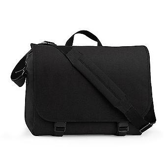 BagBase Two-tone Digital Messenger Bag (opptil 15,6 tommers Laptop kupé) (pakke med 2)