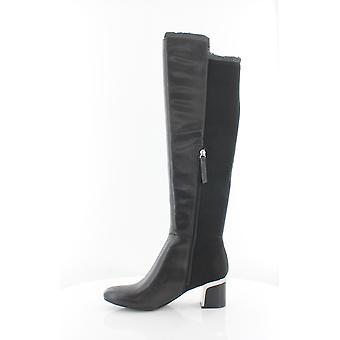 DKNY naisten Cora Almond toe polvi korkea muoti saappaat