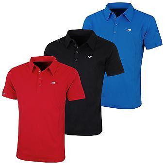 Benross Mens Pro Shell X Golf Moisture-Wicking Cotton-Blend Polo Shirt
