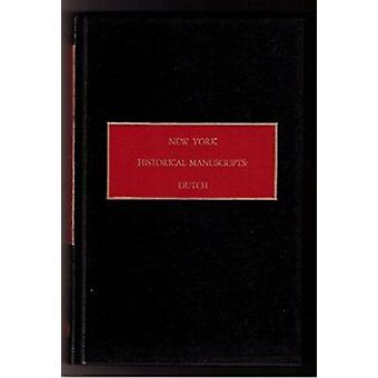 New York Historical Manuscripts by Ocallaghan - 9780806307879 Book