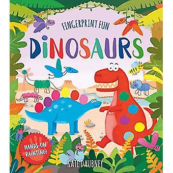 Fingerprint Fun - Dinosaurs by Kate Daubney - 9781788284929 Book