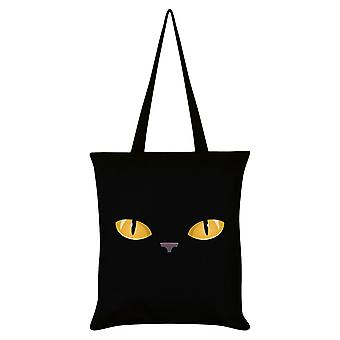 Grindstore Curious Kitten Tote Bag
