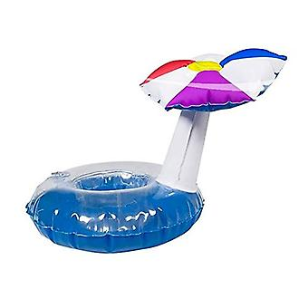 Beverage holder inflatable parasol 18x22 cm pool party drinkholder cocktail holder