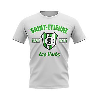 Сент-Этьен Создана Футболка Футбол (Белый)