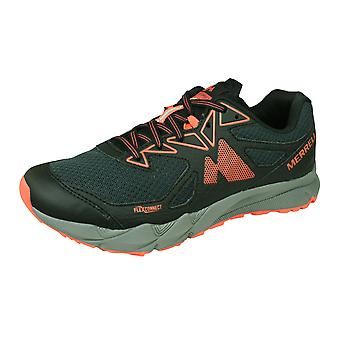 Merrell Agility Fusion Flex Womens Trail Running Trainers / Chaussures - Granite