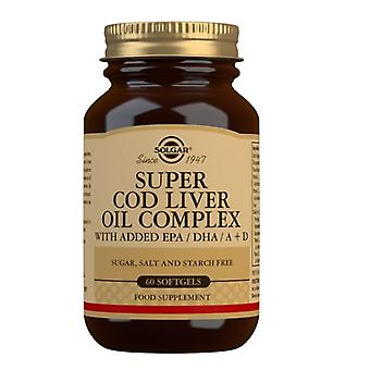Solgar Super Cod Liver Oil Complex Softgels 60 (31170)