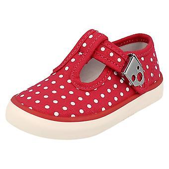 Girls Startrite Canvas Shoes Jitterbug