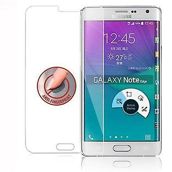 Cadorabo Tank Foil for Samsung Galaxy S6 EDGE - Tempered Display Protective Glass in 9H Hardness with 3D Touch Compatibility