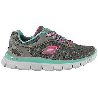 Skechers Girls Appeal EC Child Trainers Shoes Sneakers Kids