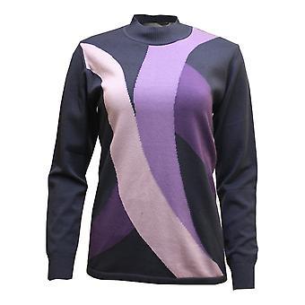 LEBEK Lebek Indigo Lilac Sweater 35850019