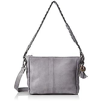 Legend Bobbio Shoulder Bags Donna Grau (Warm Grey) 22x9x27 cm (L x H D)
