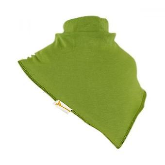 Grön Plain XXL bandana haklapp