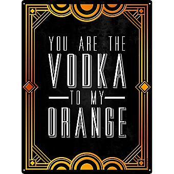 Grindstore olet vodka minun oranssi juominen Tina merkki