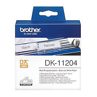 Brother DK11204 White Label 400 Per Roll
