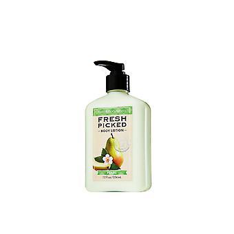 Bath & Body Works Fresh Picked Pears Body Lotion 12 fl oz / 354 ml (Pack of 2)