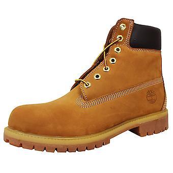 Timberland premium 6-calowy mężczyźni's buty nubukpszenicy
