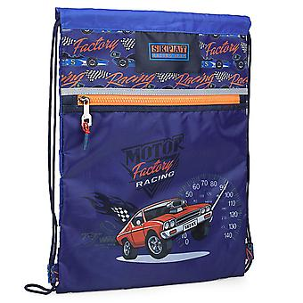 Children's Gym Backpack For Boys Model Racing