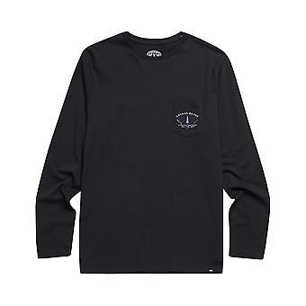 Animal Scrambler langermet T-skjorte i svart