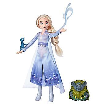 Disney gefroren Frost 2 Puppe Elsa Puppe, Pabbie & Salamander 30cm
