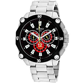 Roberto Bianci Men's Enzo Black Dial Uhr - RB71013