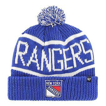 47 Brand Knit Winter Hat - CALGARY New York Rangers