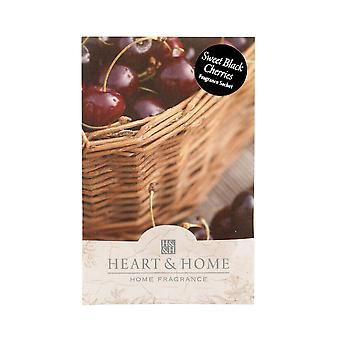 Heart & Home Large Sachet 100ml - Sweet Black Cherries