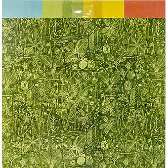 """Graphic 45 Double - Sided Paper Pad 12""""X12"""" 16/Pkg - Lost In Paradise, 8 Designs/2 Each"""