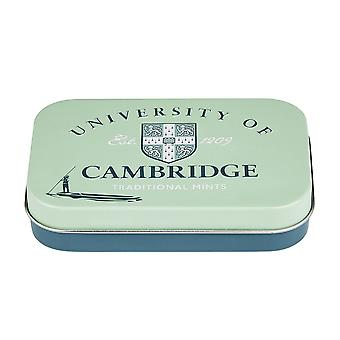 University of cambridge sugar free mints pocket tin 35g
