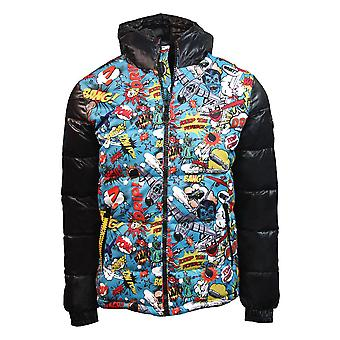 Top Gun Comics Down Jacket Black