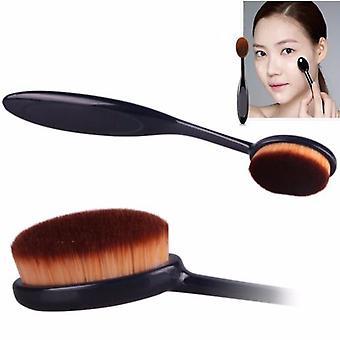 Ovale borstel | Ovale make-up borstel