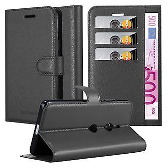 Futerał Cadorabo do obudowy Sony Xperia XZ3 - futerał na telefon z magnetycznym zapięciem, funkcją stojaka i komorą na kartę - Obudowa ochronna Case Case Book Folding Style