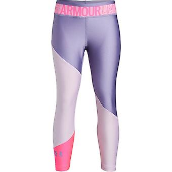 Under Armour Girls Heatgear® Armour Colour Block Ankle Tight