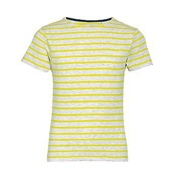 SOLS Older Childrens Miles Striped Short Sleeve T-Shirt