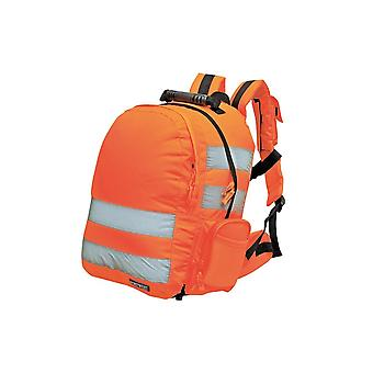 Portwest snabbfäste Hi-vis ryggsäck b904
