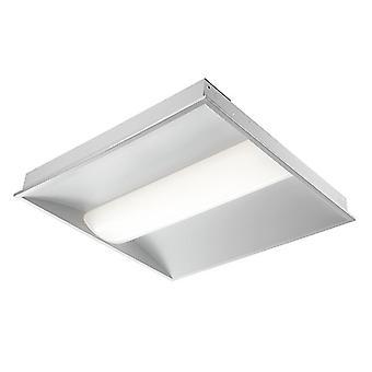 Saxby Lighting Blaine Integrated LED Emergency 1 Light Recessed Light Matt White, Opal 80085