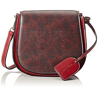 Laura Vita 2993 - Donna Rosso shoulder bags (Rot (Rouge)) 8x19x22 cm (B x H T)
