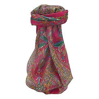 التوت الحرير التقليدي ساحة وشاح Sunil الوردي من قبل باشمينا والحرير