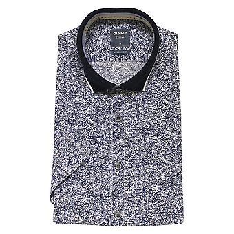 OLYMP Olymp Blue Shirt  4070 52 18