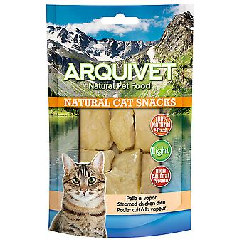 Arquivet Natural Snack for Steamed Chicken Cats (Cats , Treats , Eco Products)