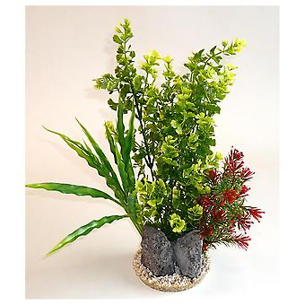 Sydeco Tropic store Sydeco (fisk, dekoration, Artificitial planter)