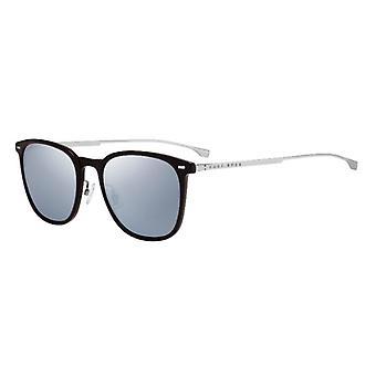 Hugo Boss 0974/S 09Q/T4 Brown/Grey-Silver Mirror Sunglasses