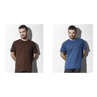 Nakedshirt Mens Larry Triblend T-Shirt