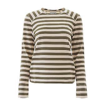 T-shirt Ganni T2483861 Femmes-apos;s Multicolor Cotton