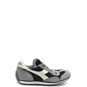 Diadora Ezbc116055 Hombres's Zapatillas de ante gris/negro