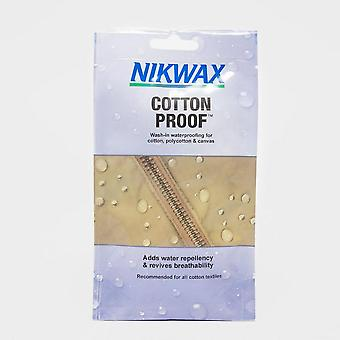NIKWAX Cotton Proofer 50ml Wasserdichter Schutz Blau