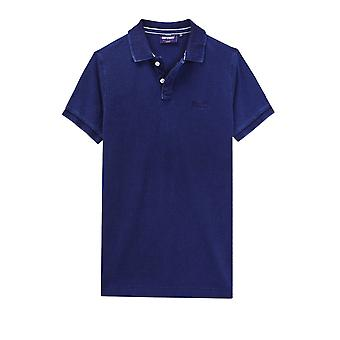 Polo Superdry Classic pique S S Polo Blau