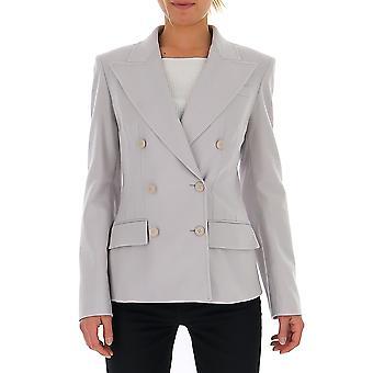 Alberta Ferretti 05055123a0485 Damen's Graue Wolle Blazer